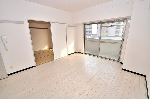オルゴグラート長田 解放感たっぷりで陽当たりもとても良いそんな贅沢なお部屋です。