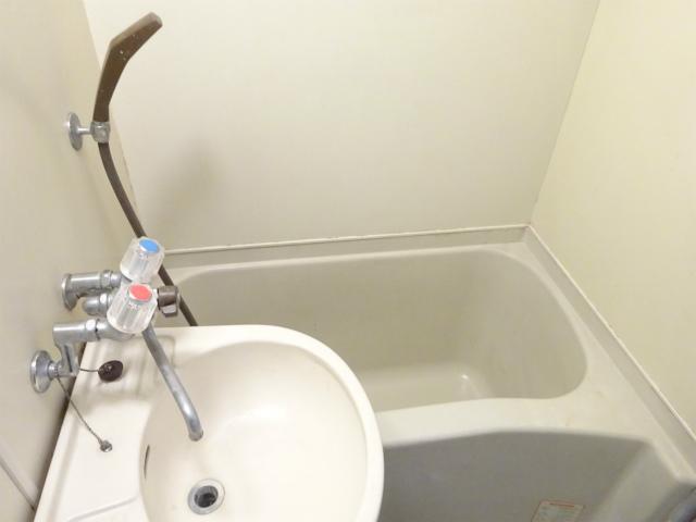 洗面台付き