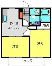 サンライズエム22階Fの間取り画像
