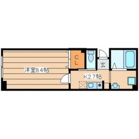 ファミール横濱1階Fの間取り画像