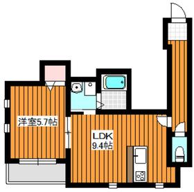 WJ・W-223階Fの間取り画像