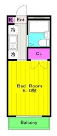 稲田堤駅 徒歩3分4階Fの間取り画像