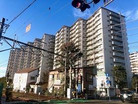 新多摩川ハイム2号棟の外観画像