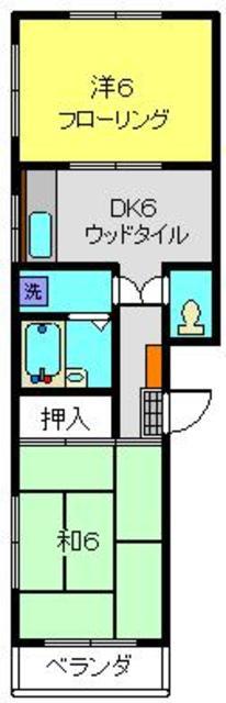 倉賀野ビル間取図