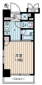 ヴェルステージ関内4階Fの間取り画像