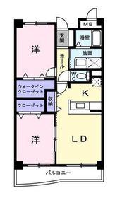 リュミエールガーデン3階Fの間取り画像
