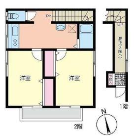 塩田邸2階Fの間取り画像