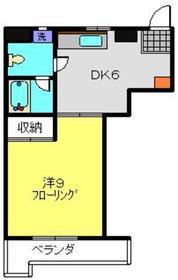 メゾン島田1階Fの間取り画像