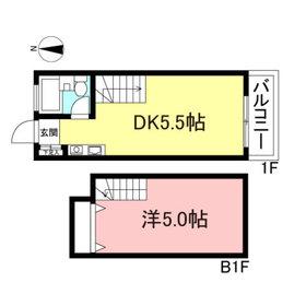 Casa do M1階Fの間取り画像