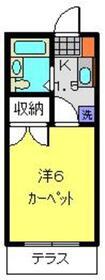 日吉第一QSハイム1階Fの間取り画像