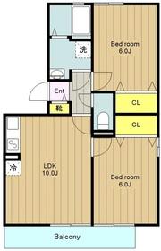 プロシードⅢ3階Fの間取り画像