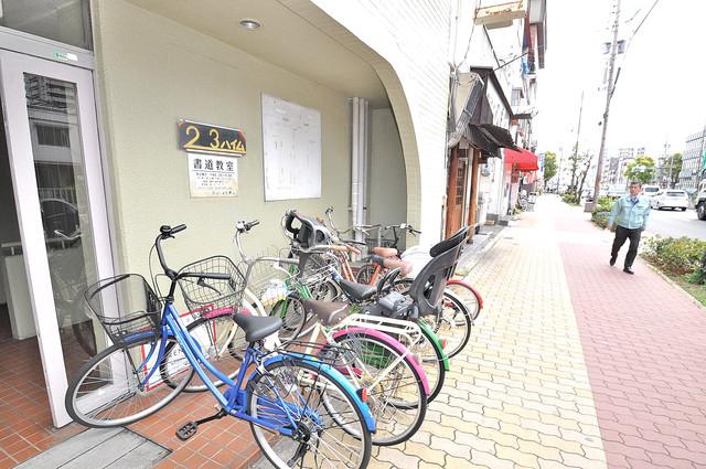 23ハイム 敷地内には専用の駐輪スペースもあります。