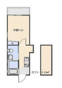 Abete横浜 A3階Fの間取り画像