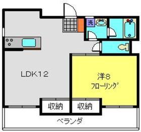 アメニティ高島台2階Fの間取り画像
