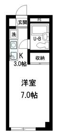 クレドール千川1階Fの間取り画像