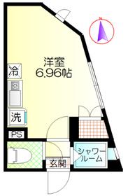 ウィンレックス赤羽二丁目2階Fの間取り画像