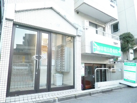スカイコート早稲田エントランス