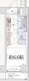 VERXEED横濱PORTO9階Fの間取り画像