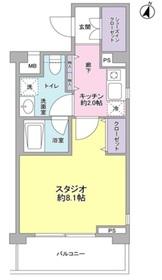桜新町駅 徒歩7分4階Fの間取り画像