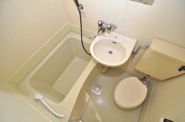 メゾンドール新今里 シャワー一つで水回りが掃除できて楽チンです