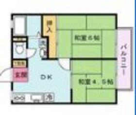 MKハイツ2階Fの間取り画像