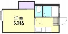 エクセル亀山1階Fの間取り画像