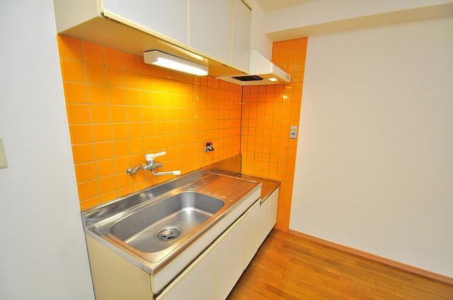 ローズガーデンCOMO 大きなキッチンはお料理の時間を楽しくしてくれます。