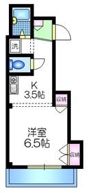 アビ・コート3階Fの間取り画像