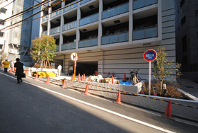 渋谷駅 徒歩3分エントランス