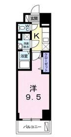 ラ ルーチェ9階Fの間取り画像