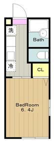 ガーデンライフ2階Fの間取り画像