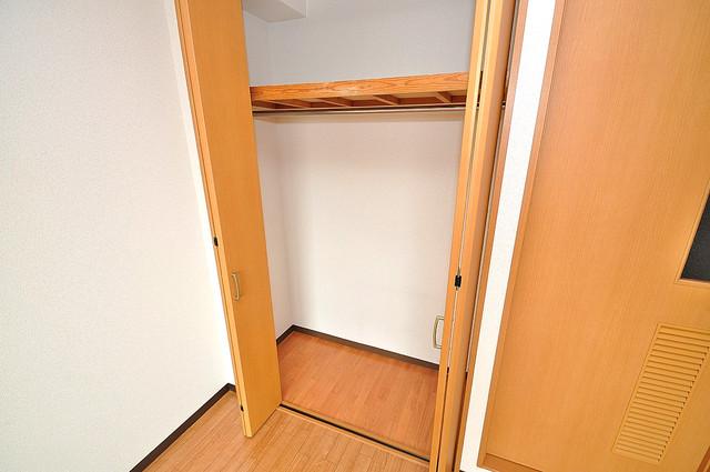 グランミサ公園前 収納がたくさんあると、お部屋がすっきり片付きますね。