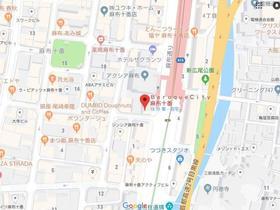 麻布十番駅 徒歩1分案内図