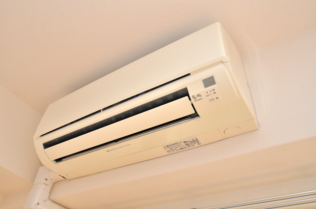 CASSIA高井田SouthCourt 最初からエアコンが付いているなんてお得ですね