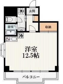クリオコート松庵3階Fの間取り画像