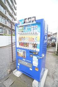 敷地内に自動販売機がありますよ♪