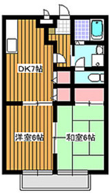 和光市駅 徒歩14分1階Fの間取り画像