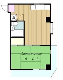 AP KOHATA1階Fの間取り画像