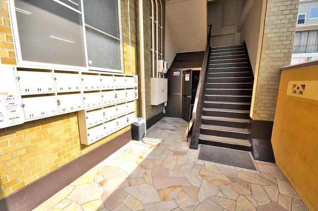 大同マンション この階段を登った先にあなたの新生活が待っていますよ。