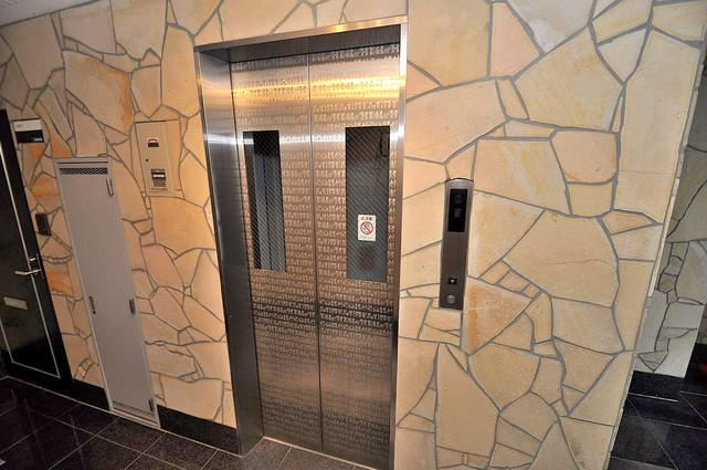 大宝長田ル・グラン 嬉しい事にエレベーターがあります。重い荷物を持っていても安心