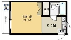笹塚駅 徒歩7分2階Fの間取り画像
