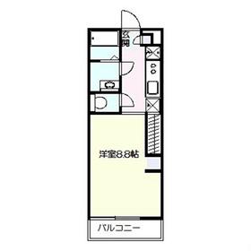 リブリ・鎌倉1階Fの間取り画像