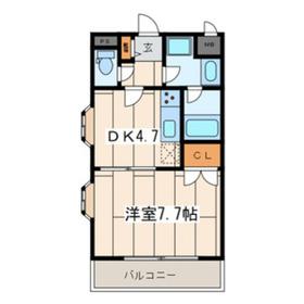アルクツールス菊名1階Fの間取り画像