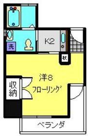 加賀美自動車通町ビル2階Fの間取り画像