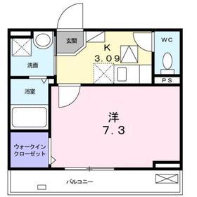 京急長沢駅 徒歩7分1階Fの間取り画像