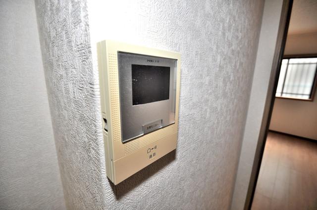 ニッコーハイツ俊徳 TVモニターホンは必須ですね。扉は誰か確認してから開けて下さいね