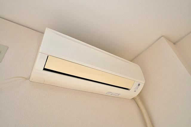 エクセルシオール長田 うれしいエアコン標準装備。快適な生活が送れそうです。