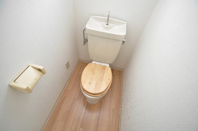レガーレ布施 白くてピカピカのトイレですね。癒しの空間になりそう。