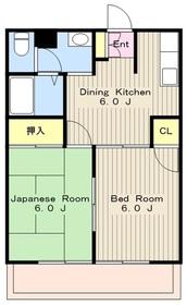 生田駅 徒歩18分3階Fの間取り画像