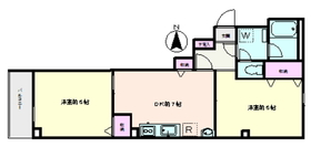 ヤチヨハイム5階Fの間取り画像